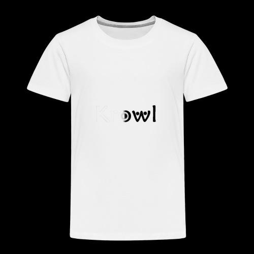 Krowl 1st Yin & Yang Design - T-shirt Premium Enfant