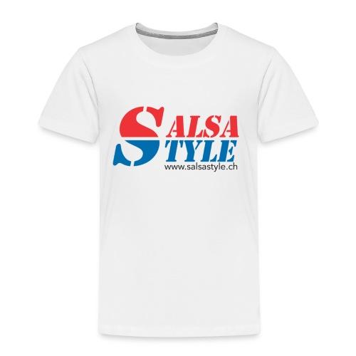 logo salsa style - PNG - T-shirt Premium Enfant