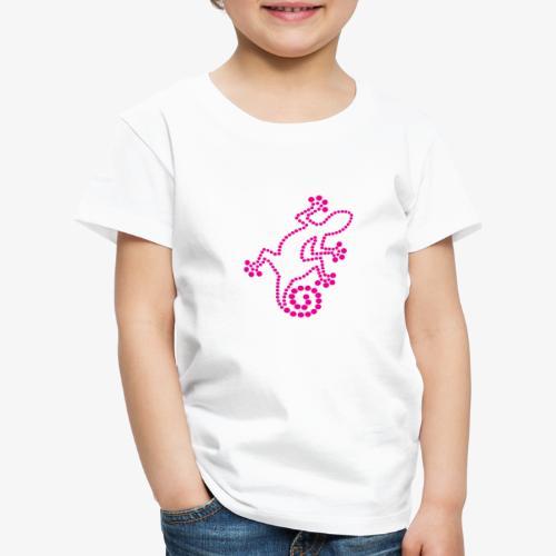 Geko dots - Maglietta Premium per bambini