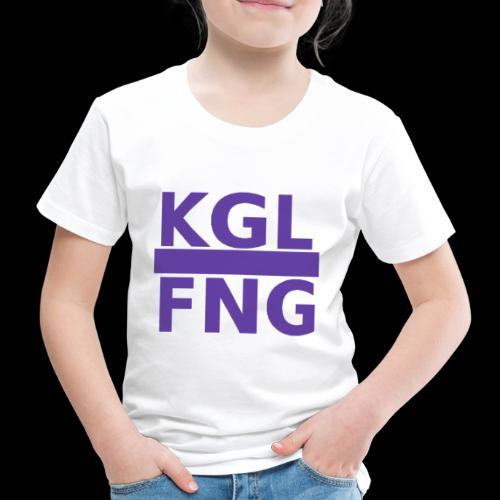 KGLFNG lila - Kinder Premium T-Shirt