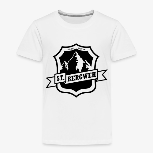 St. Bergweh Logo einfarbig - Kinder Premium T-Shirt