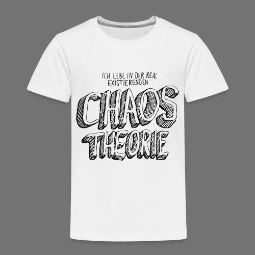 Chaostheorie (schwarz) - Kinder Premium T-Shirt