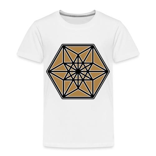 Kuboktaeder, Buckminster Fuller, Heilige Geometrie - Kinder Premium T-Shirt