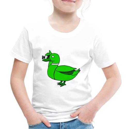 Greenduck Film Just Duck - Børne premium T-shirt