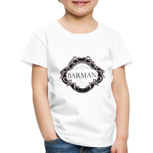 BARMAN CLASSIQUE by Florian VIRIOT - T-shirt Premium Enfant