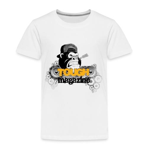 Tough Magazine - Logo - Gorilla - Kinder Premium T-Shirt