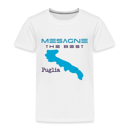 MESAGNE - Maglietta Premium per bambini