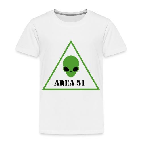 AREA 51 ALIEN - Maglietta Premium per bambini