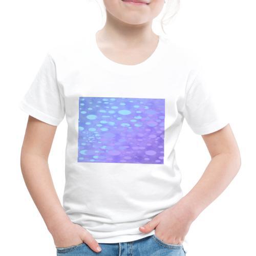 wassertropfen in der regenbogenpfütze - Kinder Premium T-Shirt