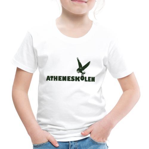 Mørkt logo - Børne premium T-shirt