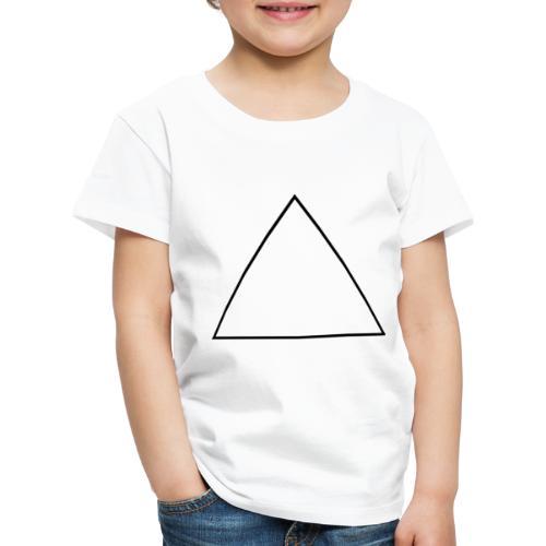 Triangolo - Maglietta Premium per bambini