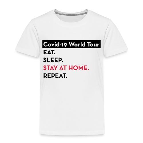 Covid-19 World Tour - T-shirt Premium Enfant