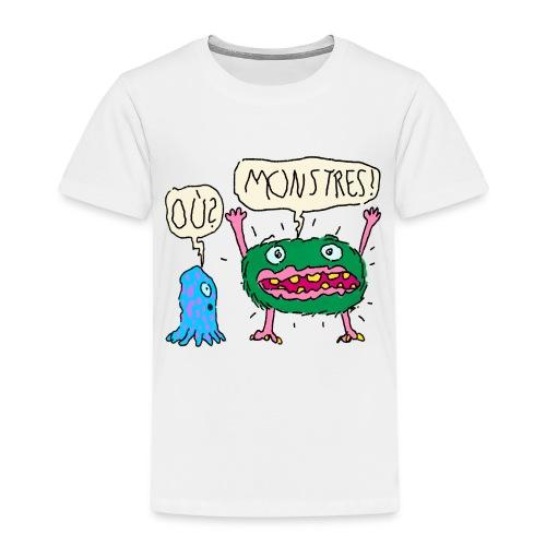 Monstres! Où? - T-shirt Premium Enfant