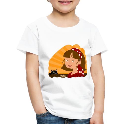 Fille d'été - T-shirt Premium Enfant