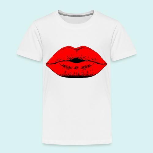 Lèvres - T-shirt Premium Enfant