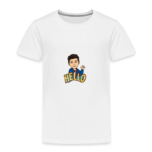 bitmoji - Premium T-skjorte for barn
