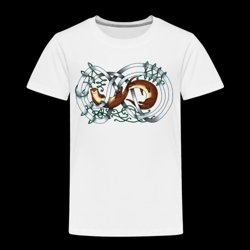 Otters entwined - Kids' Premium T-Shirt