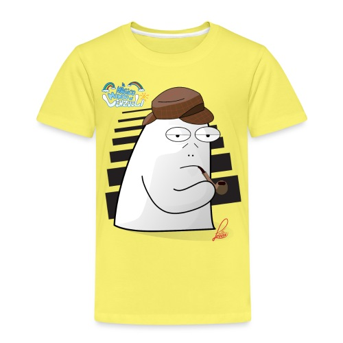 Commissario Color - Maglietta Premium per bambini