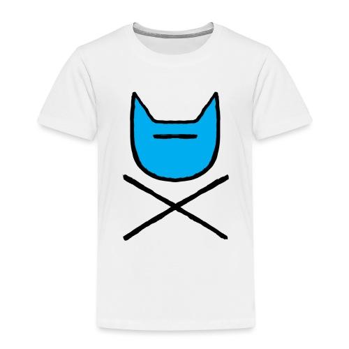 feestkat - Kinderen Premium T-shirt