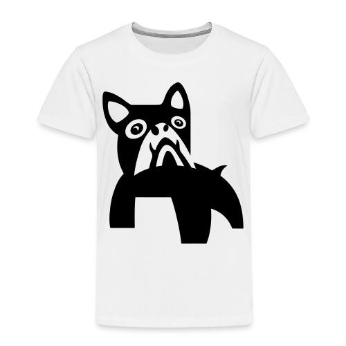 MadDog_kunst mit hund.eps - Kinder Premium T-Shirt