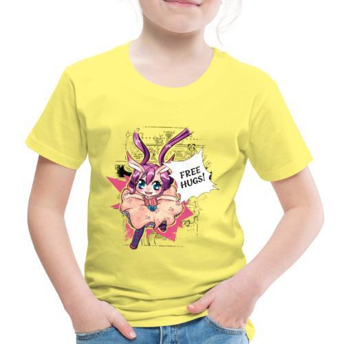 Free hugs (black lines) - Kids' Premium T-Shirt