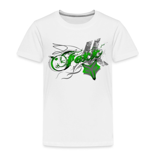 Grunge green Foxx - Kids' Premium T-Shirt