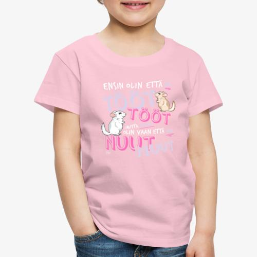 Voi Nuut Nuut V - Lasten premium t-paita