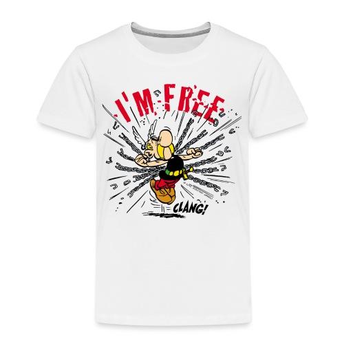 Asterix & Obelix - Asterix 'I'm Free' - T-shirt Premium Enfant