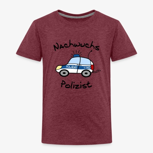 Nachwuchs Polizist - Kinder Premium T-Shirt