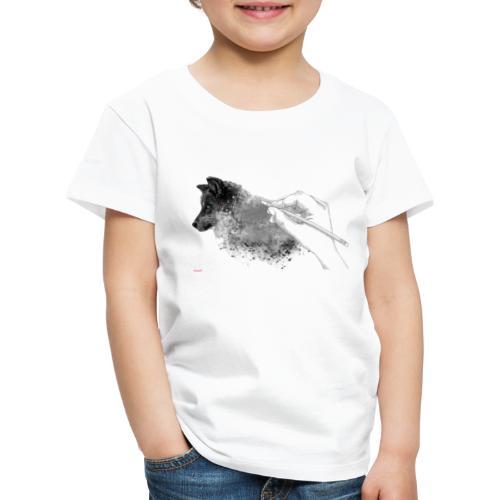 Weisse Wolfs Kolektion. ( Teaser ) - Kinder Premium T-Shirt