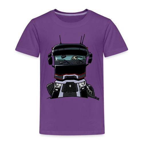 0813 R truck zwart - Kinderen Premium T-shirt