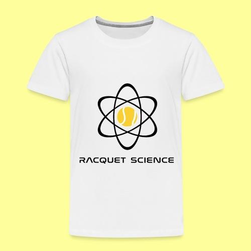 RACQUET SCIENCE - Koszulka dziecięca Premium