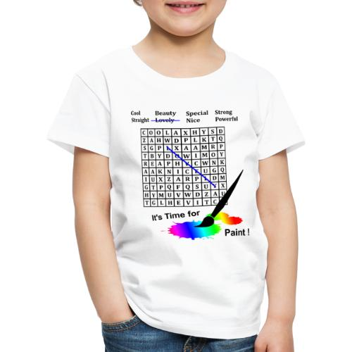 Rätsel auf Dir - Kinder Premium T-Shirt