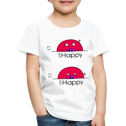 Happy Rosanna - « just / not Happy » - c - T-shirt Premium Enfant