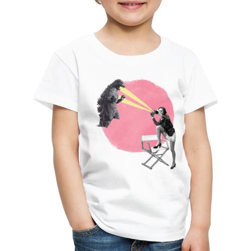 cine vintage - Camiseta premium niño