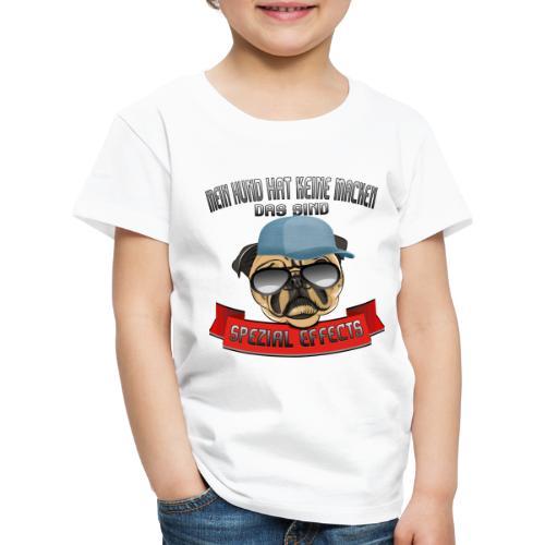 Mein Hund hat keine Macken..Special Effects - Kinder Premium T-Shirt