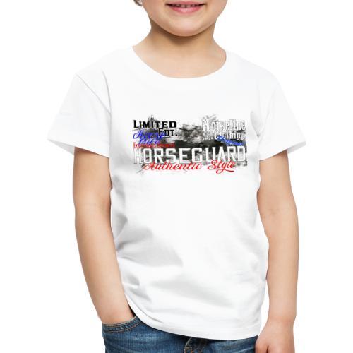 Limited Edition Horseguard Pferd Reiten - Kinder Premium T-Shirt