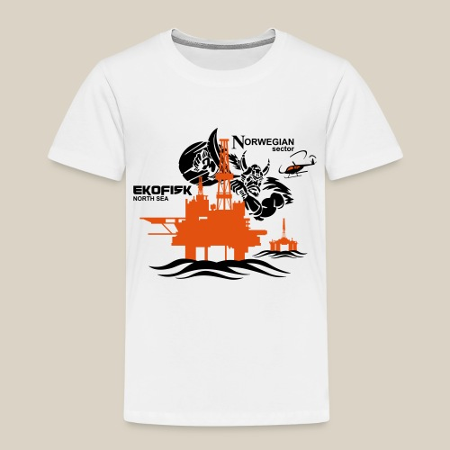 Ekofisk Oil Rig Platform North Sea Norway - Kids' Premium T-Shirt