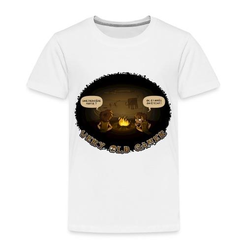 very old gamer Homme - T-shirt Premium Enfant