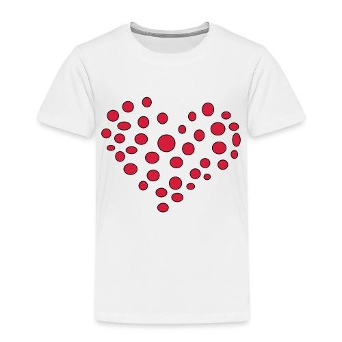 Polka - Børne premium T-shirt