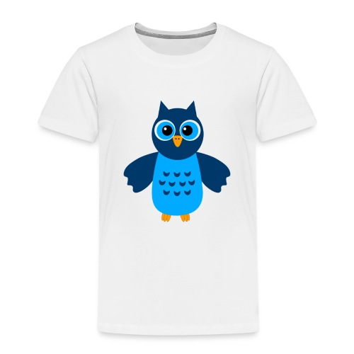 Süße Eule 1 - Kinder Premium T-Shirt