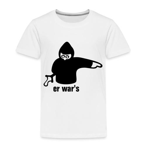 er war's - rechts - Kinder Premium T-Shirt