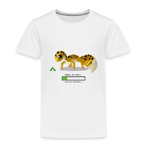 Gecko feeding time - T-shirt Premium Enfant