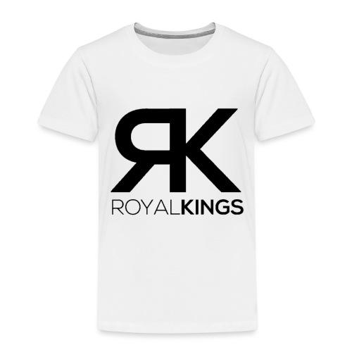 Royalkings Zwart Transparant - Kinderen Premium T-shirt