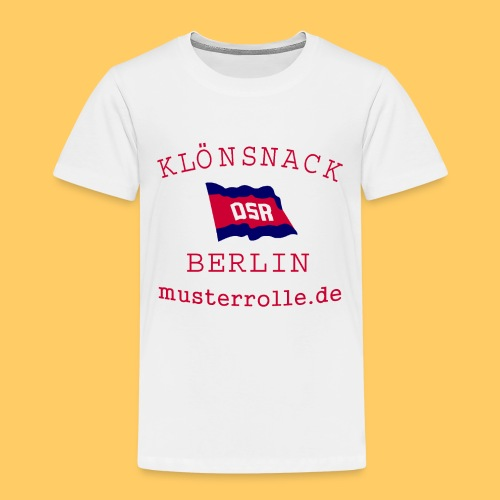 KiB-Logo-gif - Kinder Premium T-Shirt