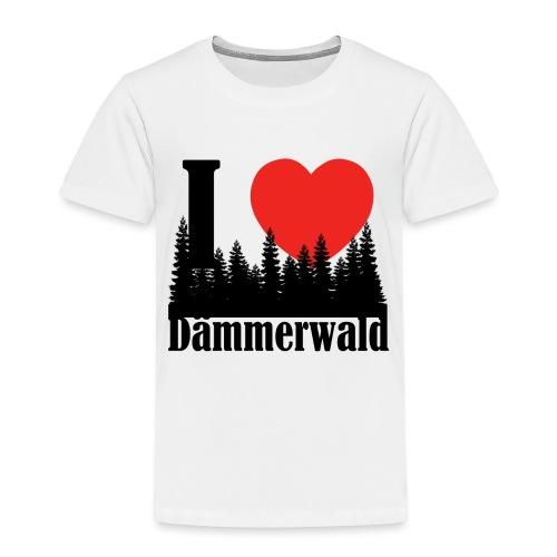 I LOVE DÄMMERWALD - Kinder Premium T-Shirt
