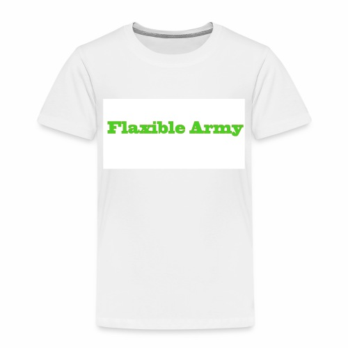 ,,Flaxible Army'' Kollektion - Kinder Premium T-Shirt