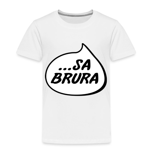 ...sa brura - Premium T-skjorte for barn