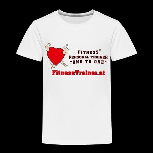 FitnessTrainer.at - Kinder Premium T-Shirt