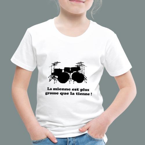 La mienne est plus grosse - T-shirt Premium Enfant
